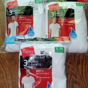 White hanes t-shirt lot